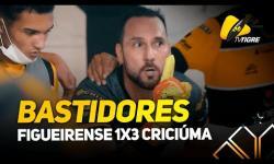 BASTIDORES - Figueirense 1 x 3 Criciúma