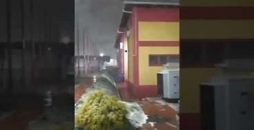 Corpo de Bombeiros de SC registra neve em Lages e outras cidades de SC