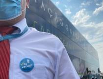 Viação Garcia e Brasil Sul fazem promoção de passagem para estimular a vacinação contra Covid-19