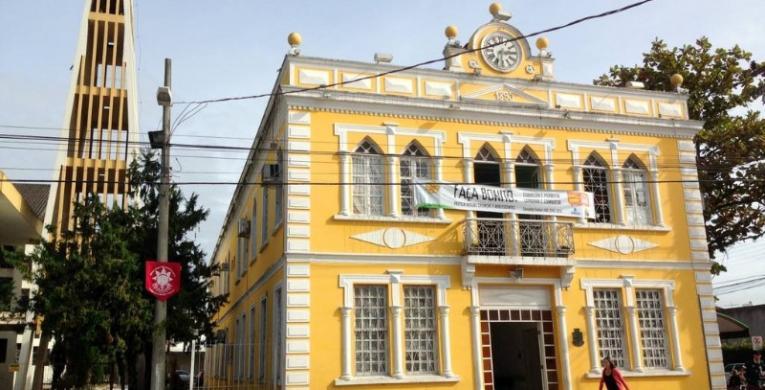 Antigo Paço Municipal é reformado para receber a Casa da Cultura