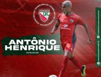 Zagueiro Antônio Henrique é o quinto reforço do Atlético Catarinense para 2021