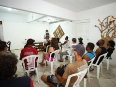Mais de 30 pessoas em situação de rua começam a ter aulas pela EJA da Prefeitura de Florianópolis