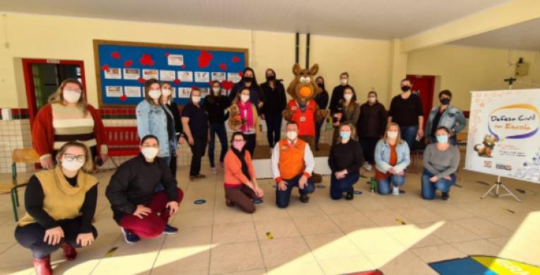 Defesa Civil passa a fazer parte do currículo do ensino fundamental em Santa Catarina