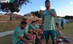 Chapecoense - preparação finalizada para jogo contra o Atlético Mineiro