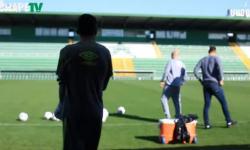 Chapecoense - preparação para o jogo contra o Juventude