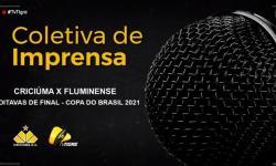 AO VIVO Coletiva - Criciúma x Fluminense