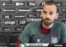 Entrevista com o goleiro Rodolfo Castro - 28 de julho de 2021