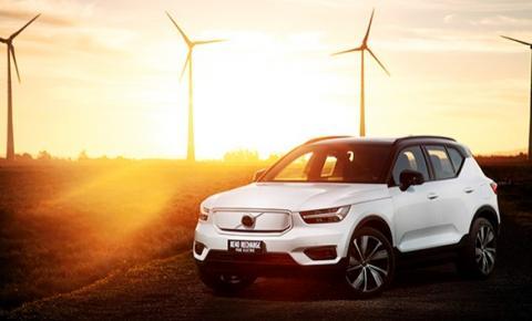 XC40 Pure Electric: Primeiro carro totalmente elétrico da Volvo Cars chega ao Brasil