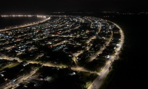 Palhoça quer ter 100% da iluminação pública com Led até outubro, diz prefeitura
