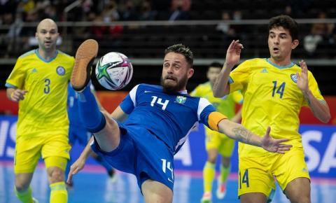 Brasil vence o Cazaquistão e fica em terceiro lugar no Mundial