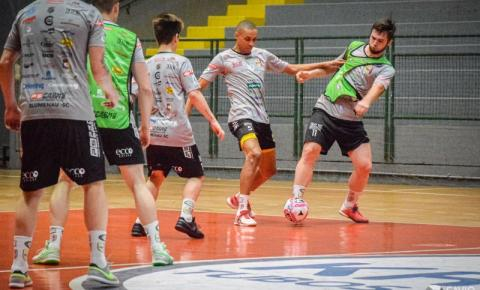 Blumenau recebe o Joinville em clássico catarinense pela Liga Nacional de Futsal