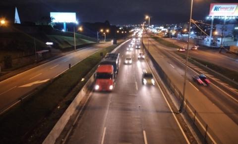 Arteris entrega mais cinco quilômetros de terceiras faixas em São José