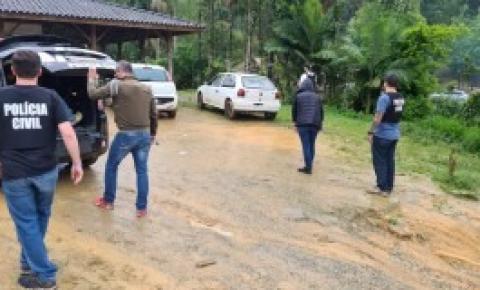 Em Biguaçu, Polícia Civil prende homem suspeito de ter praticado estupro