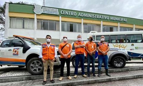 Defesa Civil de Florianópolis auxilia Santo Amaro da Imperatriz por conta das chuvas