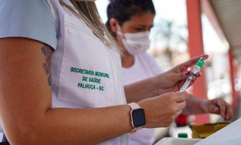 Covid-19: veja como fica a imunização em Palhoça nesta sexta-feira (15)