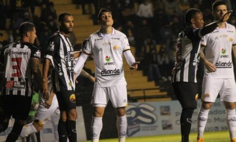 Criciúma tem dois expulsos e fica no empate sem gols em casa com o Botafogo-PB pela Série C