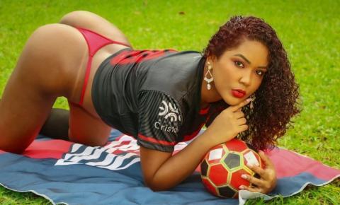 Josi liberato ganha o título de musa destaque do Atlético Goianiense 2021 no concurso Musa do Brasileirão
