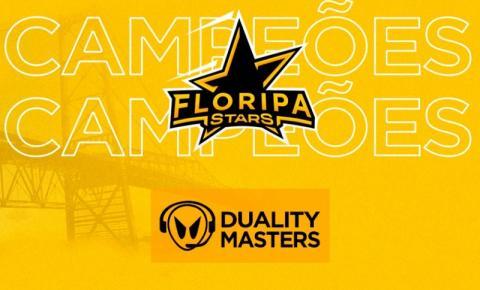 Equipe Floripa Stars fatura título do Duality Masters de CSGO