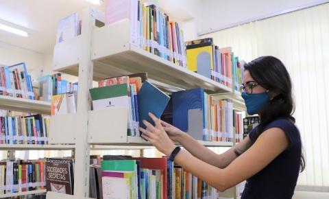Biblioteca de Biguaçu reabre após dez meses fechada por causa da pandemia