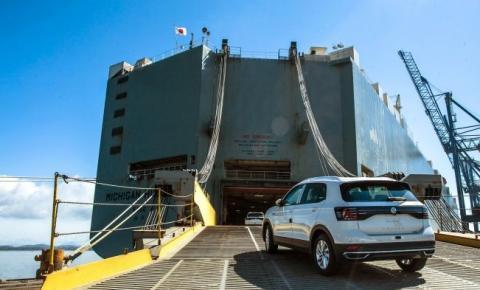 Volkswagen inicia exportação do T-Cross para o continente africano