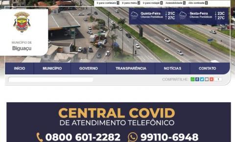 Prefeitura de Biguaçu lança novo portal nesta quinta-feira