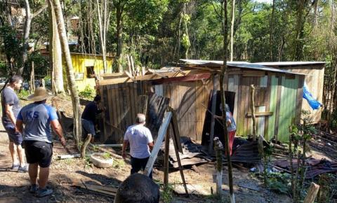 São José faz operação em terreno particular invadido na Avenida das Torres