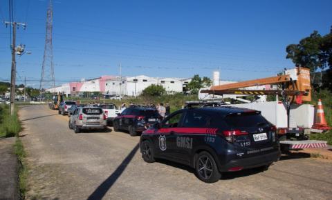 Força-tarefa em São José desocupa construções irregulares no Boa Vista