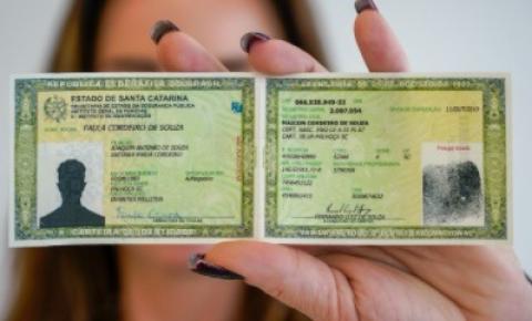 Biguaçu volta a emitir Carteiras de Identidade no Pró-Cidadão