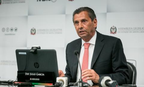 Julio Garcia retoma mandato na Alesc após decisão favorável do STF
