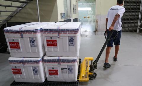 Santa Catarina recebe mais 59,5 mil doses da vacina de Oxford