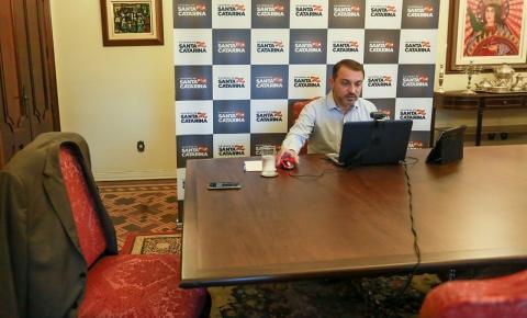 Carlos Moisés encaminha à Alesc projeto para recuperação fiscal