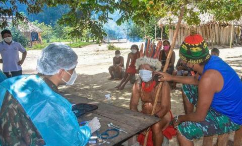 Covid-19: mais de 60% dos indígenas maiores de 18 anos foram vacinados