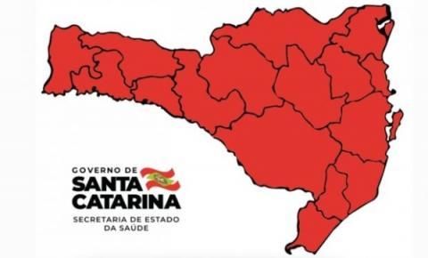 Todas as regiões de Santa Catarina estão no nível gravíssimo, diz estado