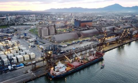 Setor portuário movimentou 1,153 bilhão de toneladas em 2020
