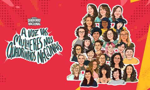 Plataforma lança documentário sobre a voz das mulheres nos quadrinhos nacionais