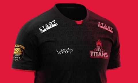 UFSC Titans sorteia camisa oficial da equipe de e-Sports