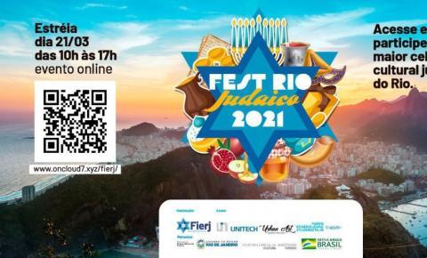 Maior festa judaica do Rio de Janeiro acontece 100% virtual
