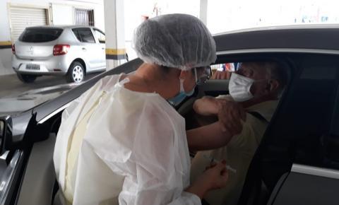 São José inicia vacinação de idosos acima de 62 anos nesta segunda