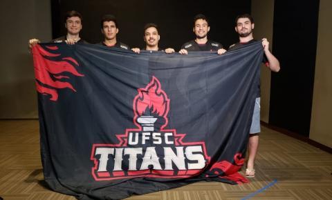 Equipe de CSGO da UFSC disputa semifinais do JUBs no Distrito Federal