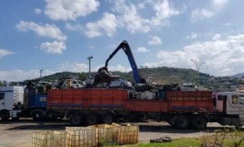 Polícia Civil recicla 354 veículos apreendidos na Grande Florianópolis e abre espaço em pátios públicos