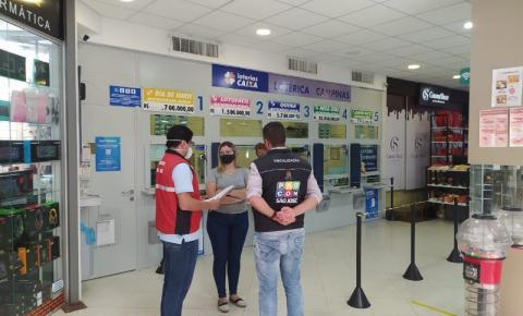 Procon intensifica fiscalização em lotéricas e Correios e São José por tempo de espera
