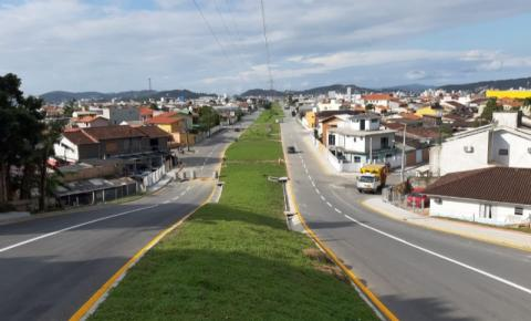 Prefeitura de Palhoça inaugura a Avenida das Torres