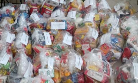 Biguaçu arrecada quase 4 toneladas de alimento durante vacinação contra a Covid-19