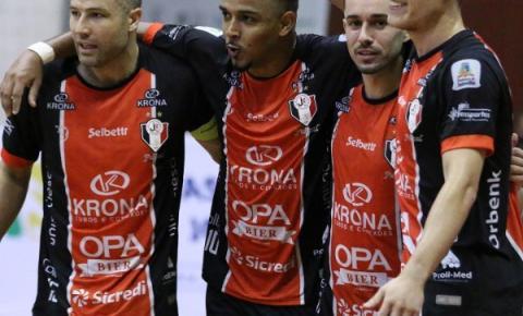 Virou passeio! Joinville goleia Marreco por 7 a 1 na Liga Nacional