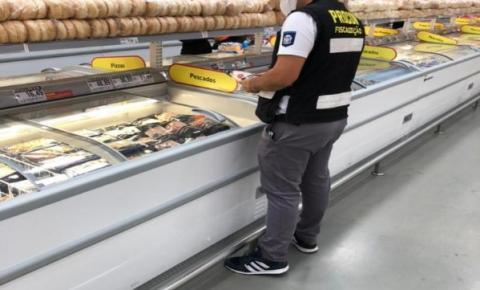 Desde março, Procon apreendeu mais de meia tonelada de alimentos