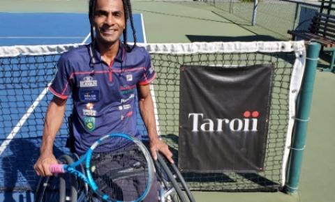 Top 10 do mundo, catarinense Ymanitu Silva inicia gira na Europa por vaga no Mundial e na Paralimpíada no tênis em cadeira de rodas