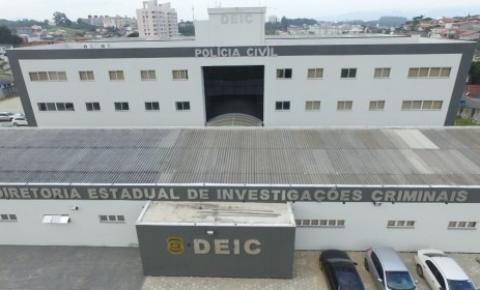 """Polícia Civil cumpre prisão preventiva em ação de continuidade à Operação """"Déjà vu"""", em São José"""