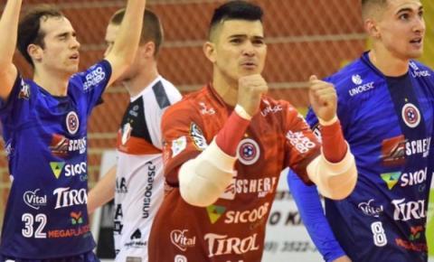 Joaçaba sai na frente do Joinville nas finais da Recopa Santa Catarina