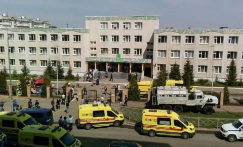 Tiroteio deixa pelo menos 11 mortos em escola na Rússia