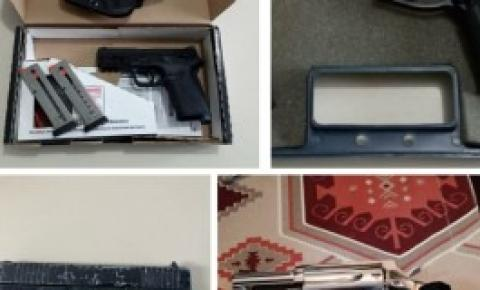 Polícia Civil apreende armas em investigação de compra e venda de forma ilegal em Florianópolis